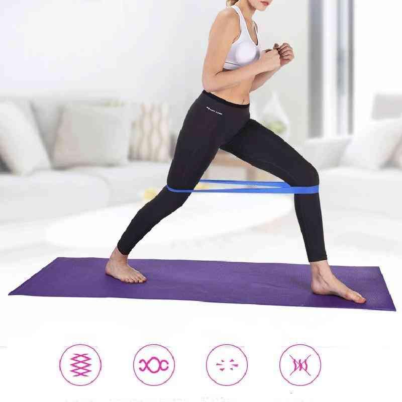 Joga trake gumene trake - pilates, sport, trening, vježbanje unutarnje / vanjske fitnes elastične trake
