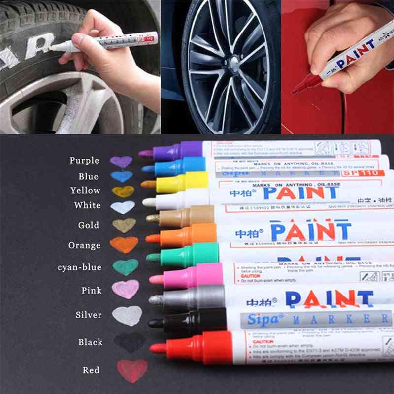 רכב מקצועי קסם תיקון שריטות עט צבע - תיקון עט תיקון - חום