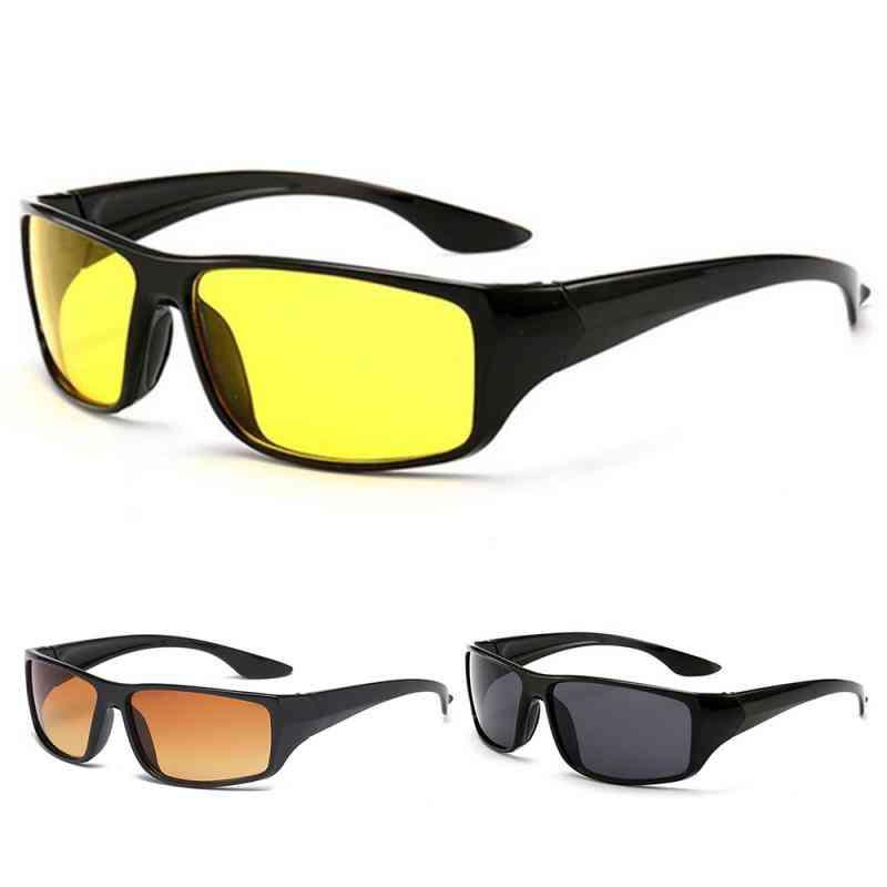 Gafas de conducción con visión nocturna antideslumbrante - gafas de luz mejoradas y reducción de ojos cansados de la luz digital - amarillo