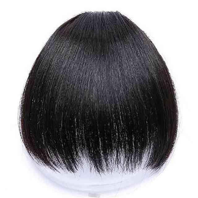 6-tommers 4-fargeklips i hår smell hår tilbehør - syntetisk falske smell klipp