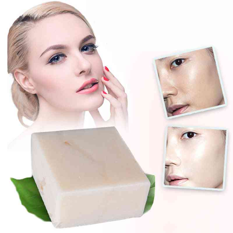Skin Whitening, Acne, Pore Removal - Moisturizing Bleaching Rice, Milk Soap Tslm2