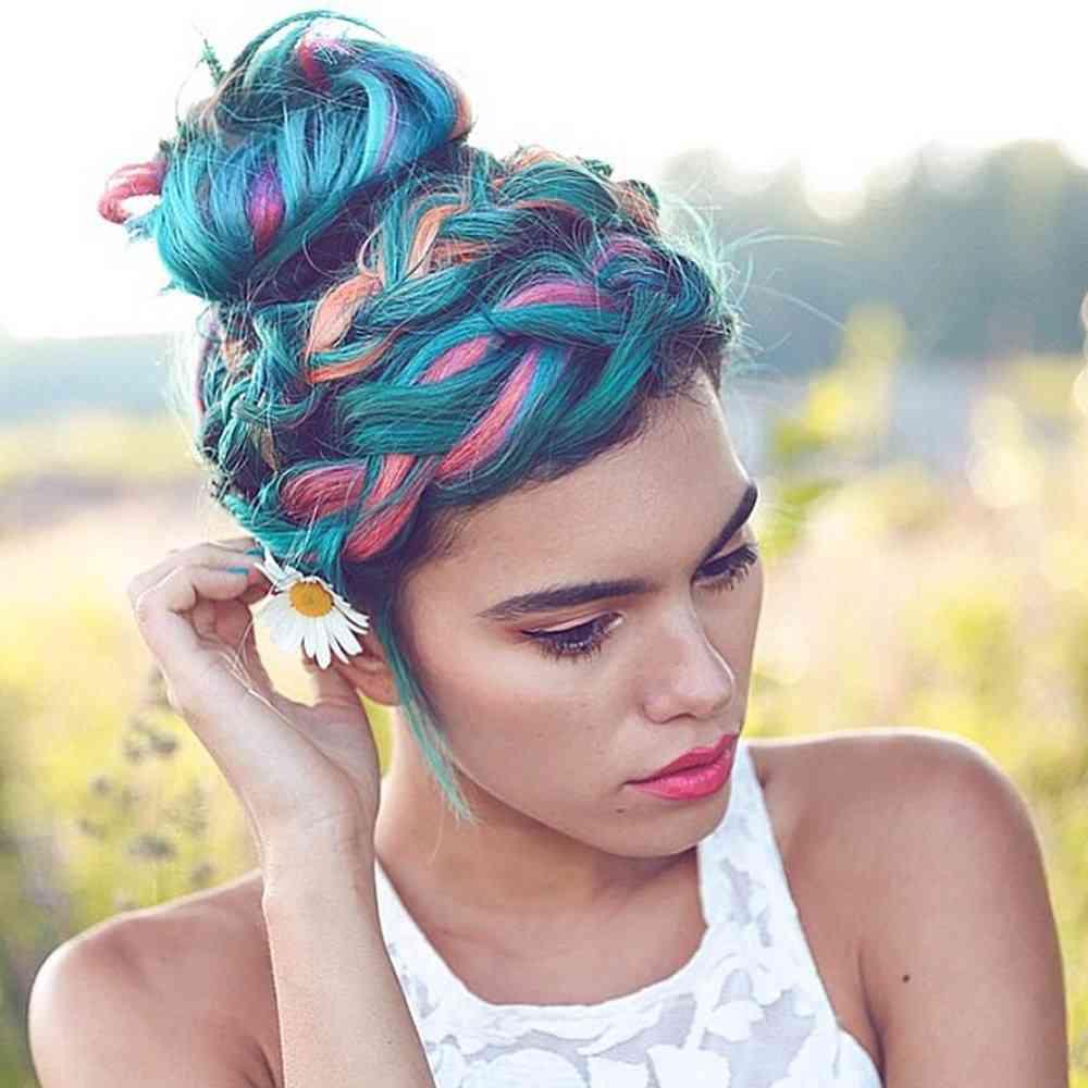Temporary Hair Color Wax - Diy One Time Molding Cream & Women