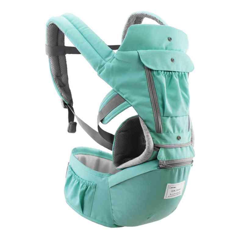 Ergonomic Infant Carrier Hipseat - Sling, Front Facing ,kangaroo Baby Wrap Travel Carrier