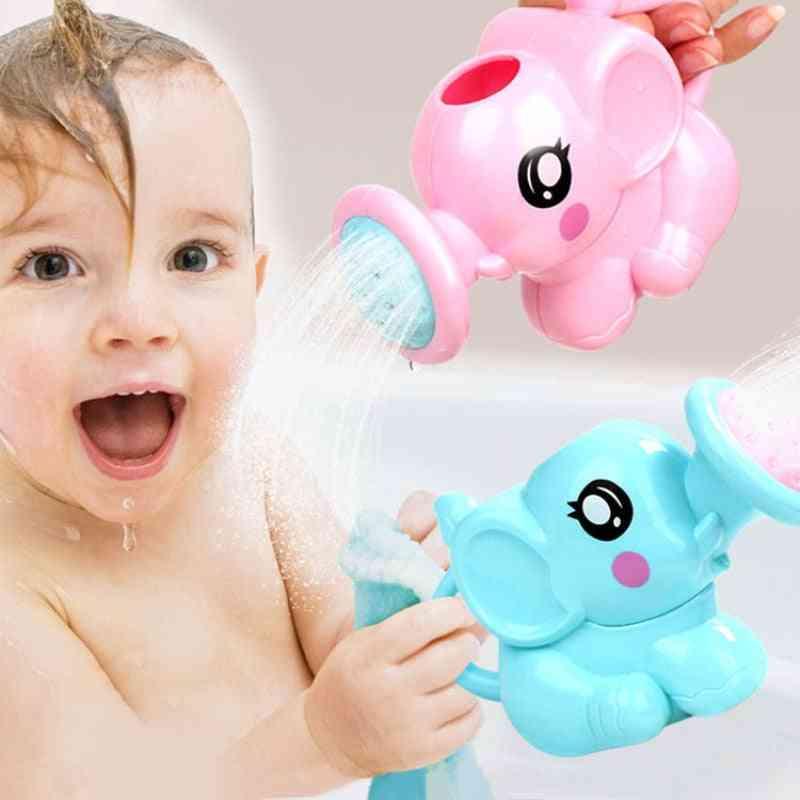 Kids Water Bath Toy - Beach, Plastic Watering Can, Sprinkler Kit