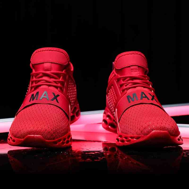Free Running Sports Trainer Shoes Blade Sneakers For Jogging, Walking - Lace Up Athletic, Breathable, Running Shoes