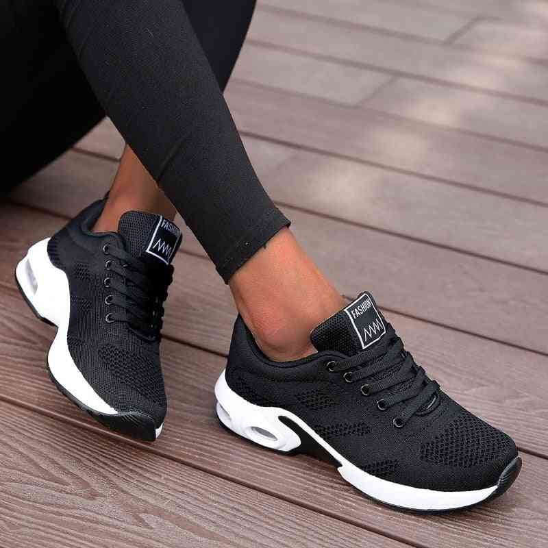 Lightweight, Sneakers Running - Outdoor, Mesh, Comfort With Air Cushion Trainer Shoes