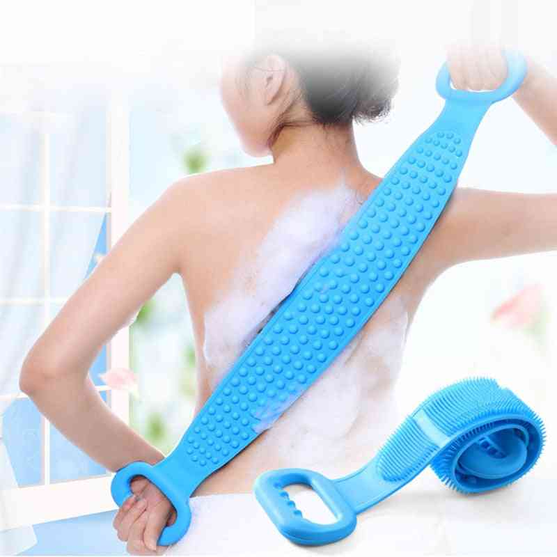 Extended Scrubber - Rubbing Back, Mud Peeling Body Massager