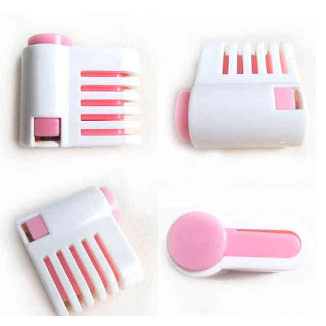 2pcs 5 Layers Diy Cake Bread Cutter Slicer Set - Cake Decorating Tool For Kitchen