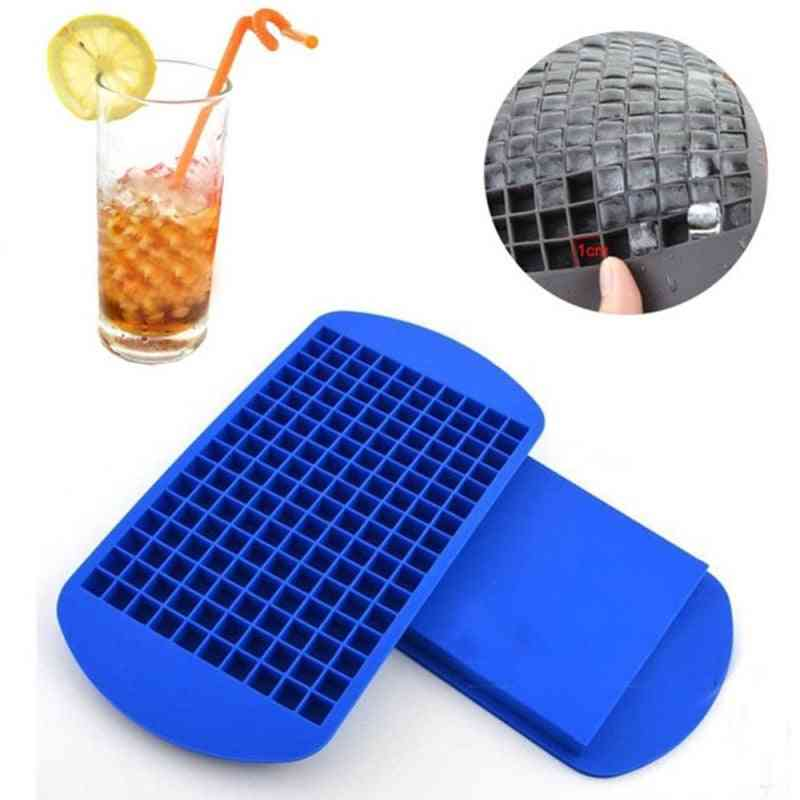 Mini 160 Grade Silicone - Diy Small Ice Cube Mold Square