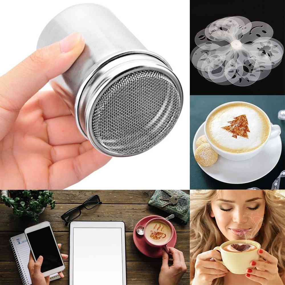 Fancy Coffee, Chocolate, Cocoa, Printing Model Foam Spray Assembly