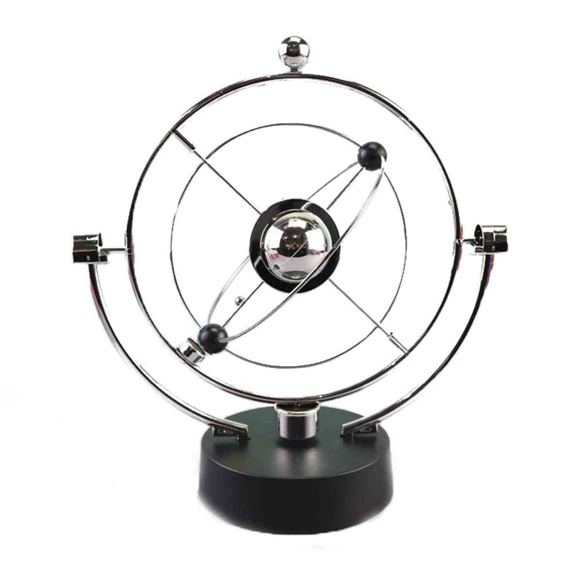 Rotation Perpetual Motion Swing Celestial Globe - Newton Pendulum Model