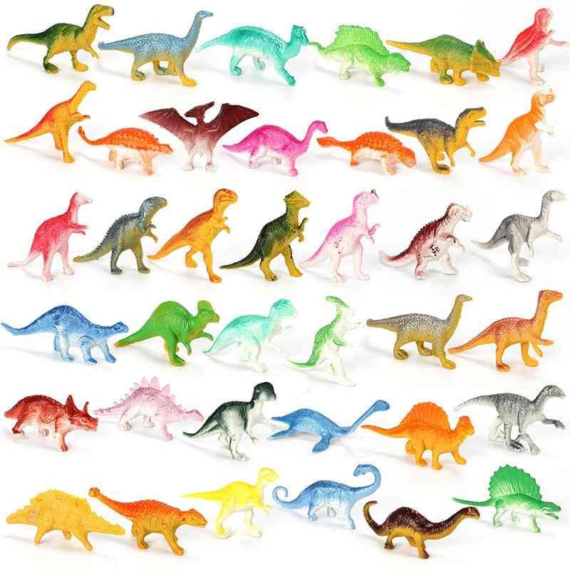 Mini Dinosaur Model's Educational - Cute, Simulation Animal Small Figures