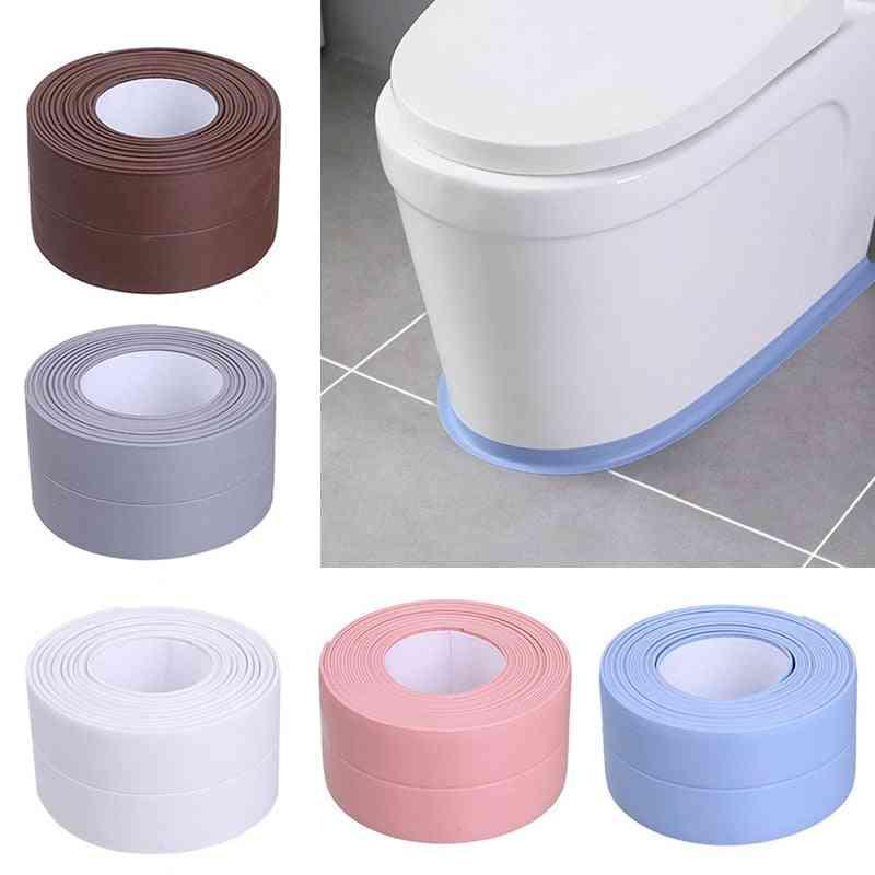 Sealing Strips - Self Adhesive Seam Toilet Corner, Kitchen, Window Seal Strips