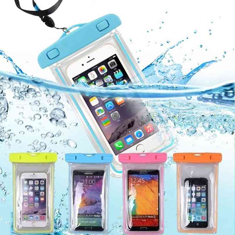 Waterproof Phone Pouch Drift Diving Swimming Bag - Underwater Dry Bag Case Cover For Phone