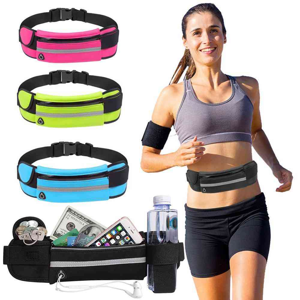 Mini Pockets Running Bag For Ladies And Men's - Portable Usb And Waterproof Cell Phone For Pocket