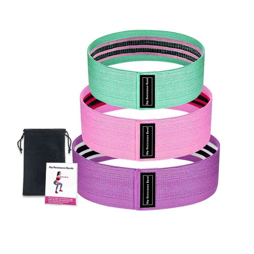 Resistance Exercise Equipment - Fitness Rubber / Elastic Bands