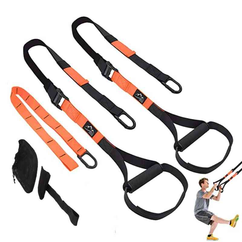 Fitness Hanging Belt With Stretching Elastic Straps For Gym Workout