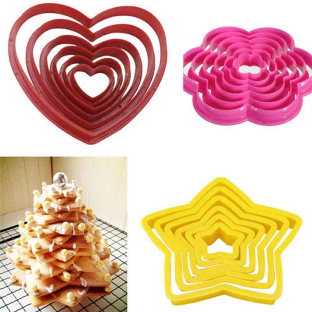Multi Style Cake Cookie Biscuit Cutter - Stamp Mold Used For Food Grade Baking Pastry