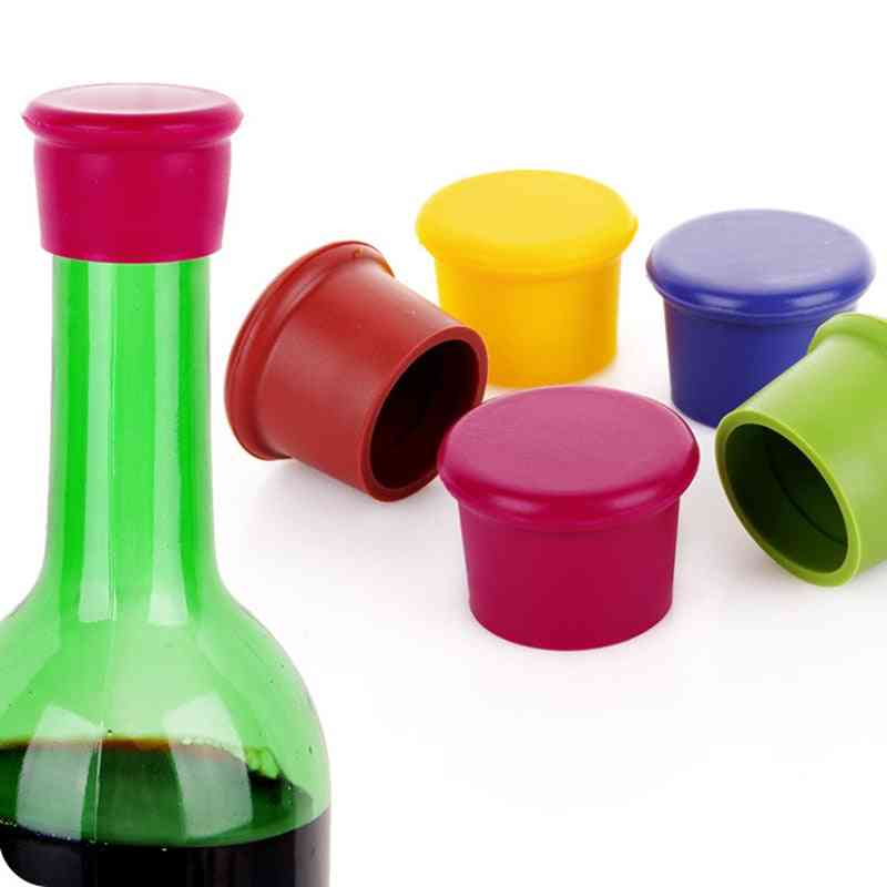 Stoppers Bar Leak Free Caps Seal Bottle To Keep Fresh Wine, Beer And Other Drinks