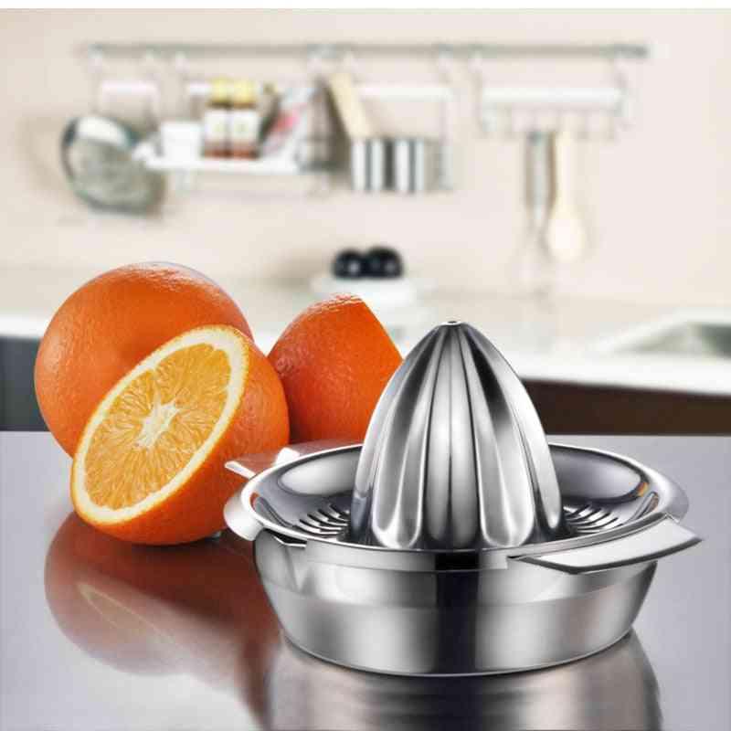 Manual Portable, Stainless Steel - Lemon, Orange, Citrus Juice Maker