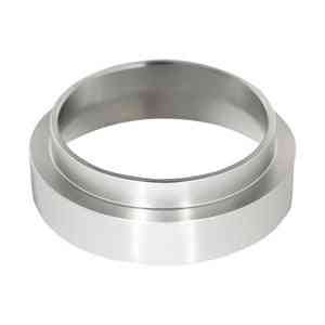 Stainless Steel Intelligent Dosing Ring - Brewing Bowl Coffee Powder For Espresso, Barista