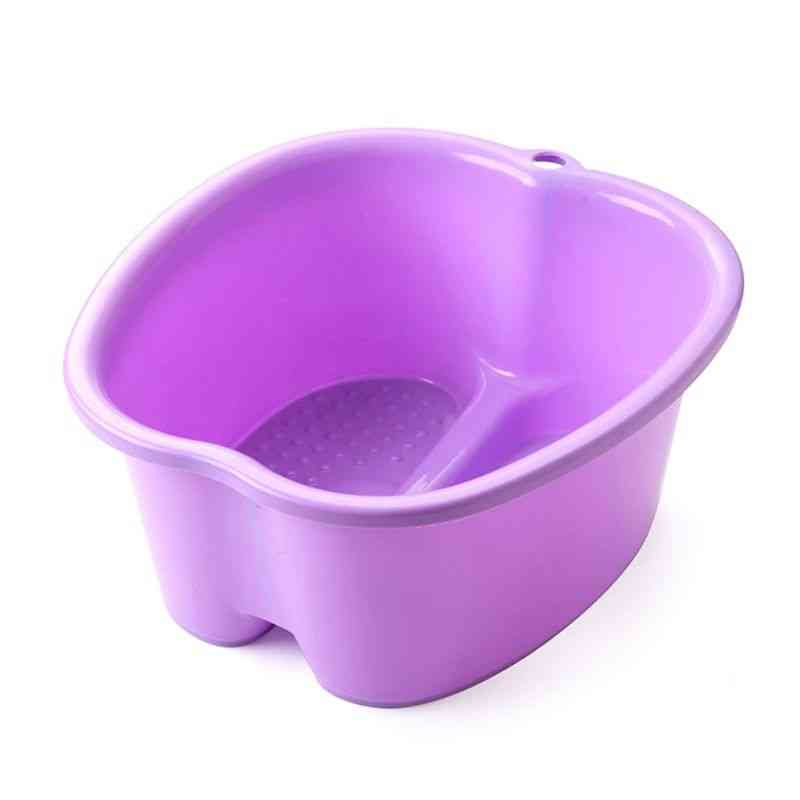 Large Tub Basin Bucket For Feet Detox Pedicure Massage Available In 3 Different Colors