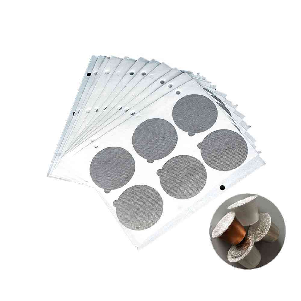 Refillable Stainless Steel Nespresso Coffee Capsule Film