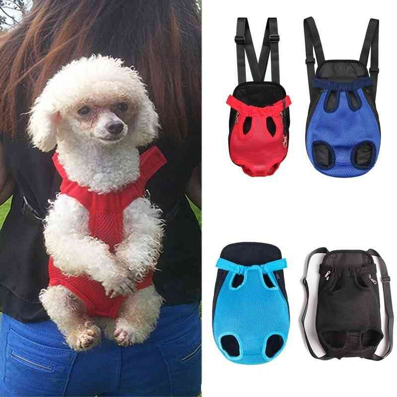 Pet Dog Carriers Backpacks - Cat Puppy Pet Front Shoulder Carry Sling Bag