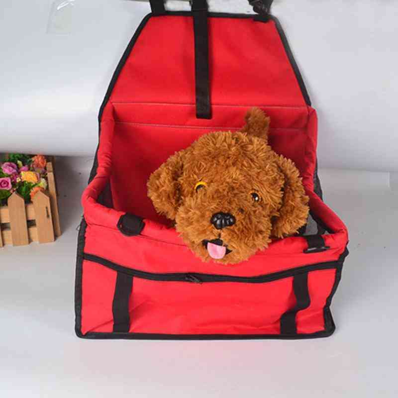Folding Pet Dog Carrier Pad Waterproof Seat Bag Basket, Safe Carry Bag