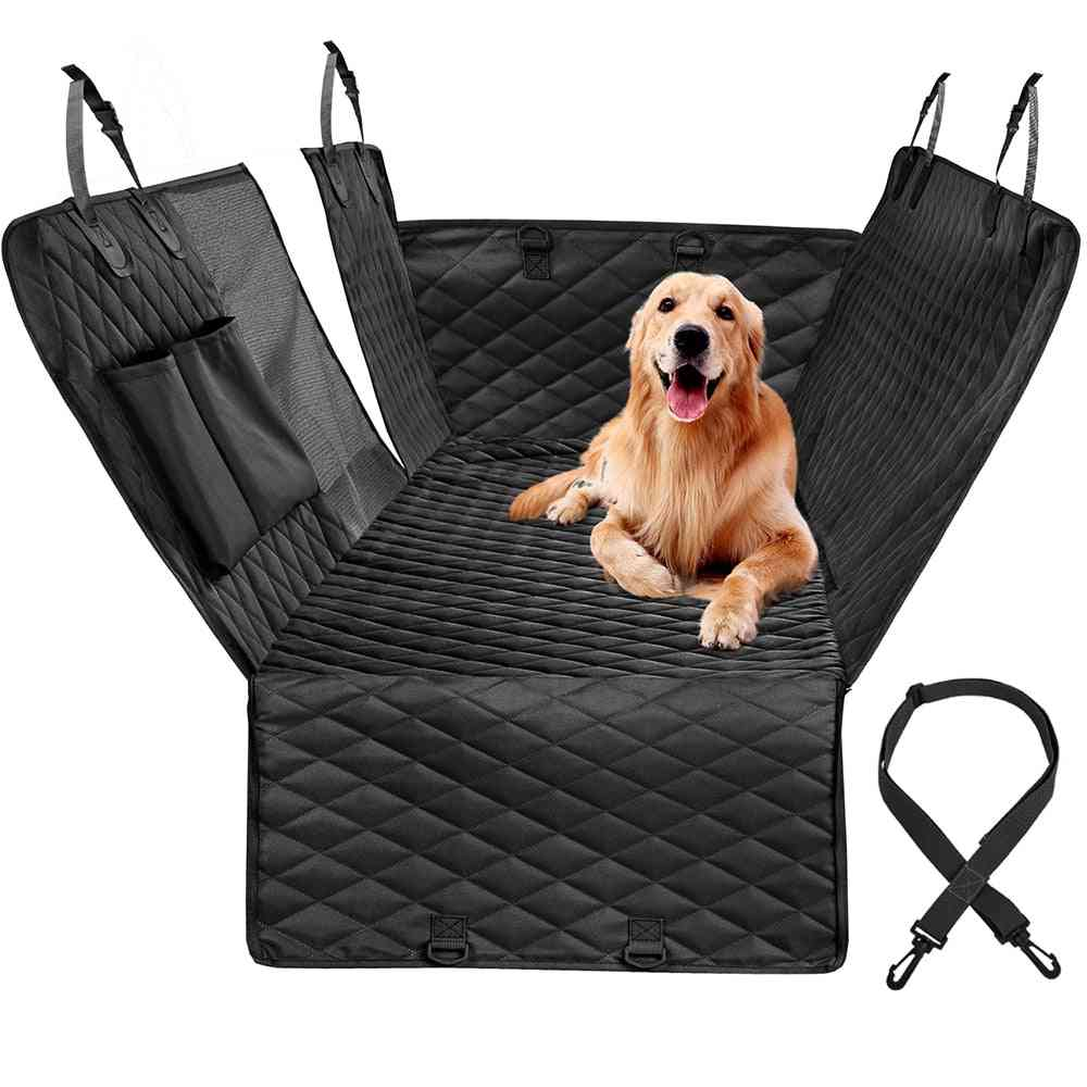 Cover For Car Rear Back Seat - Waterproof Pet Travel Mat Carrier,  Protector