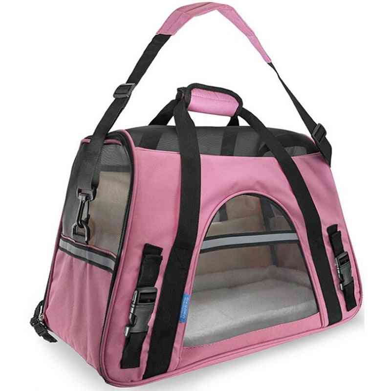 Portable Dog, Cat Carrier Bag - Puppy Travel Bags Breathable