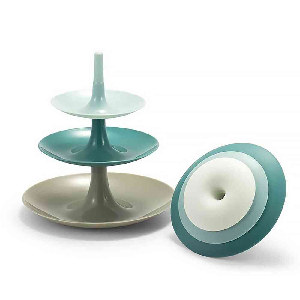 3 Layers Cake Stand - Wedding Cake Stand , Dessert Fruits , Vegetable , Cupcake Stand