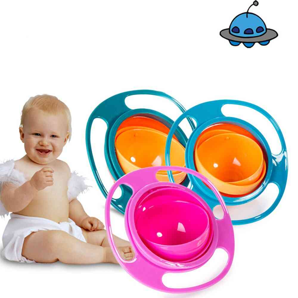 Baby Spill Proof Bowl Feeding Dish - Universal Food Grade Pp Dishes
