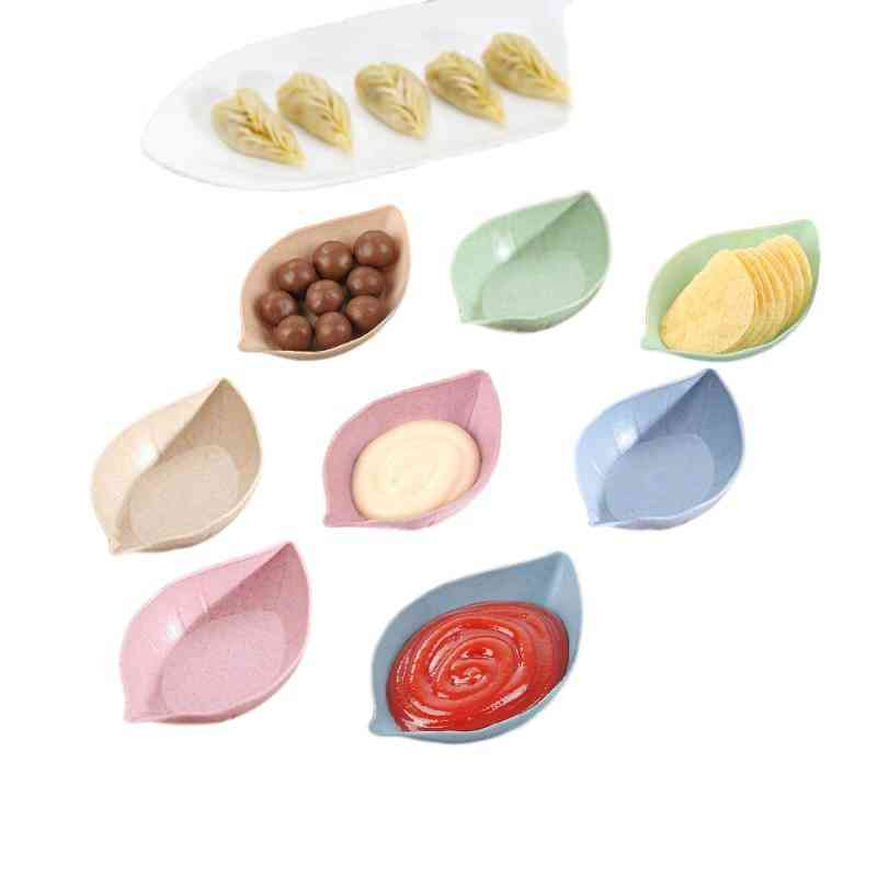 Creative Multi Purpose Plates With Heart, Round, Plum And Blossom Shaped
