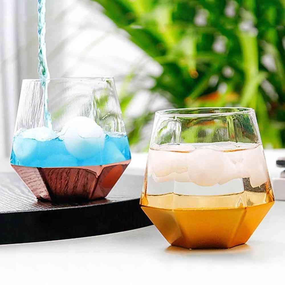 Glass Double Walled Heat Insulated Tumbler Tea Cup / Coffee Mug