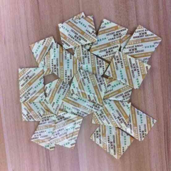 250 Bags Deoxidant Oxygen Absorber - Food Grade 50cc Oxygen Co2 Absorbers