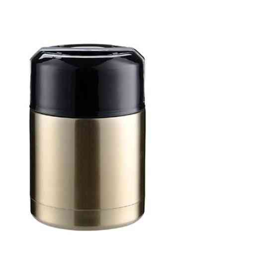 Thermos Lunch Box Portable Stainless Steel Food Soup Containers Large Capacity