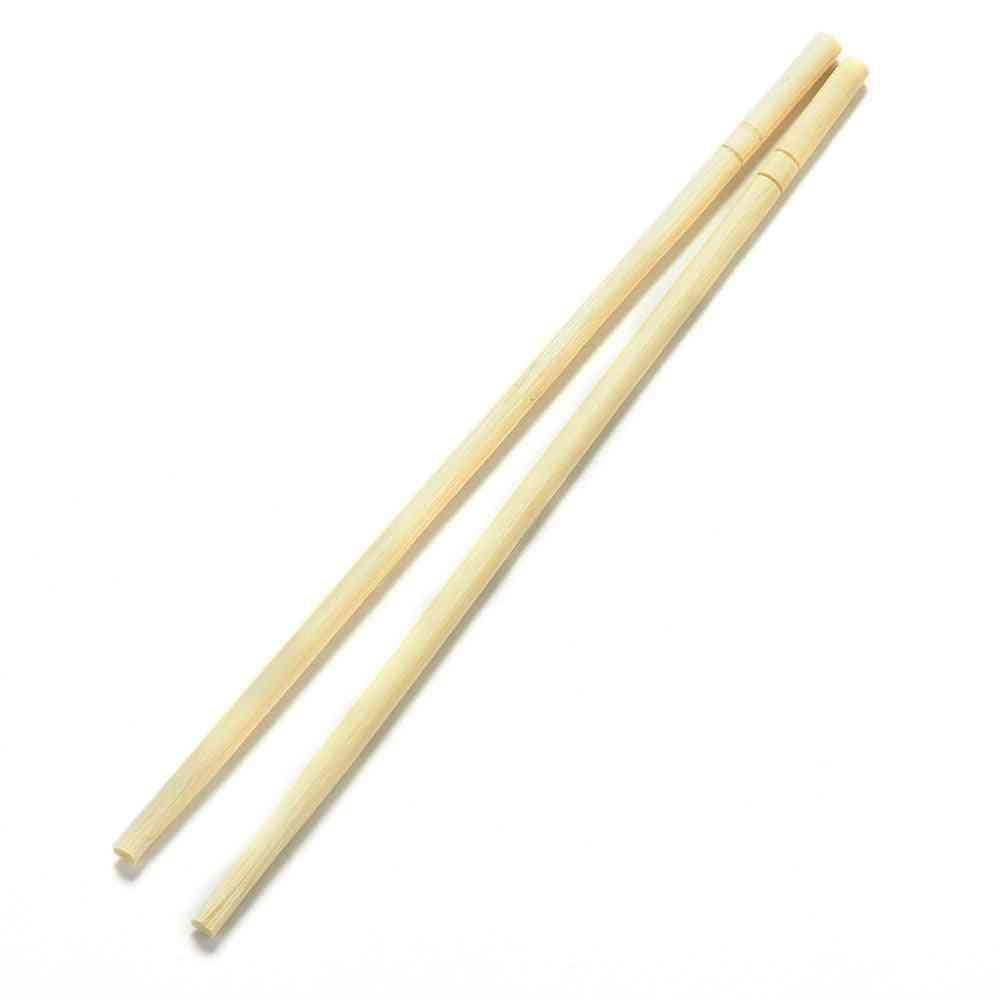 40 Pairs Chopsticks Disposable Bamboo Wooden Chopsticks Approx. 18cm Long