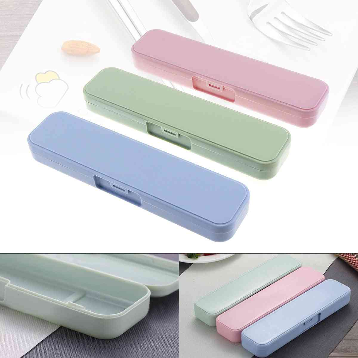 Portable Pp Conjoined Side Opening Storage Box With Fixed Buckle