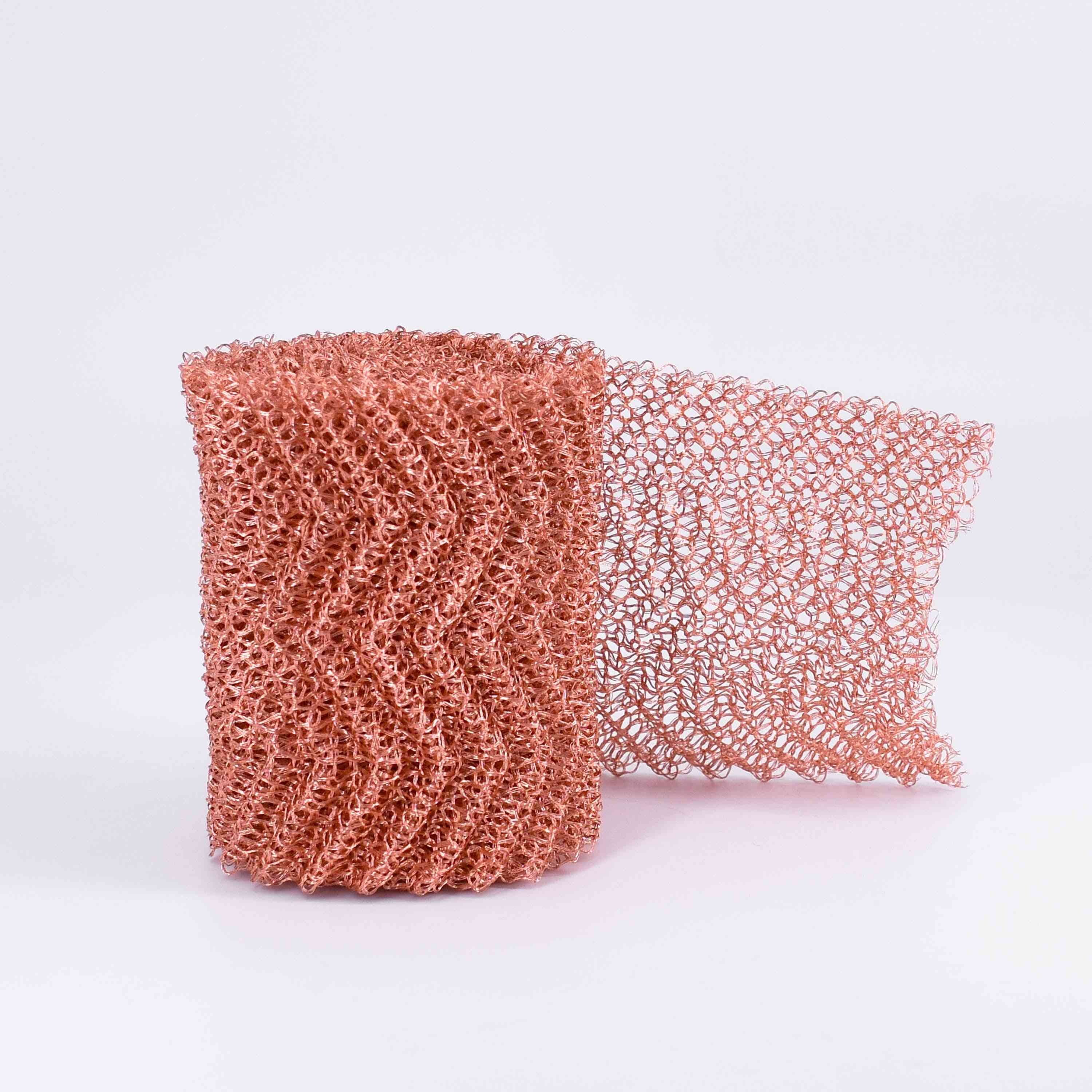 Pure Copper Mesh Woven Filter Sanitary Food Grade For Distillation Moonshine Home Brew Beer