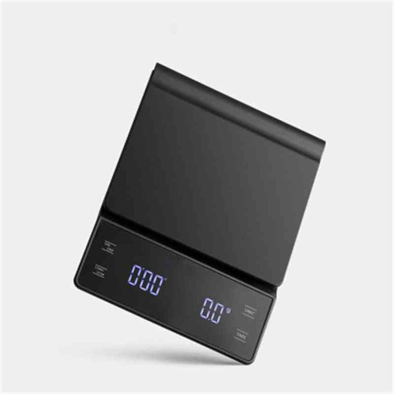 Coffee Scale With Timer Smart Drip - Precision Coffee Pot Scale Household Portable, Digital Kitchen Scales