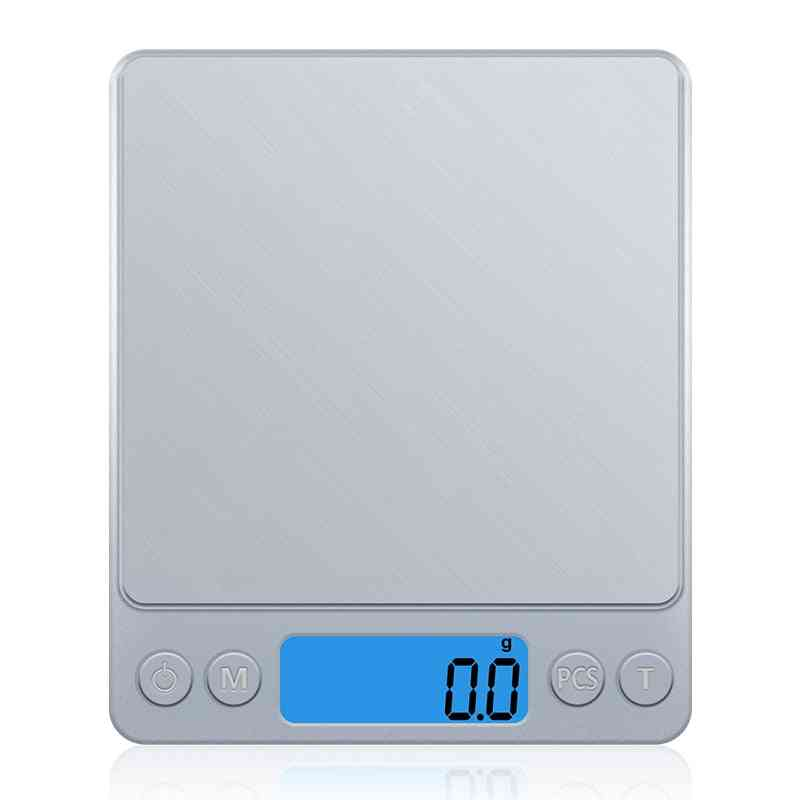 Digital Stainless Steel Precision Scale Mini Pocket Electronic Balance Weighting Machine