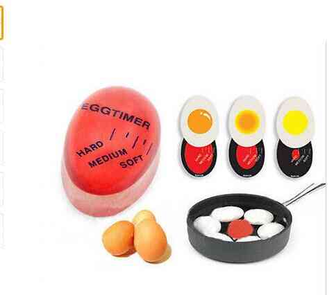 Egg Perfect Color Changing Timer -soft ,hard Boiled Eggs Cooking Helper Kitchen Timing Timer