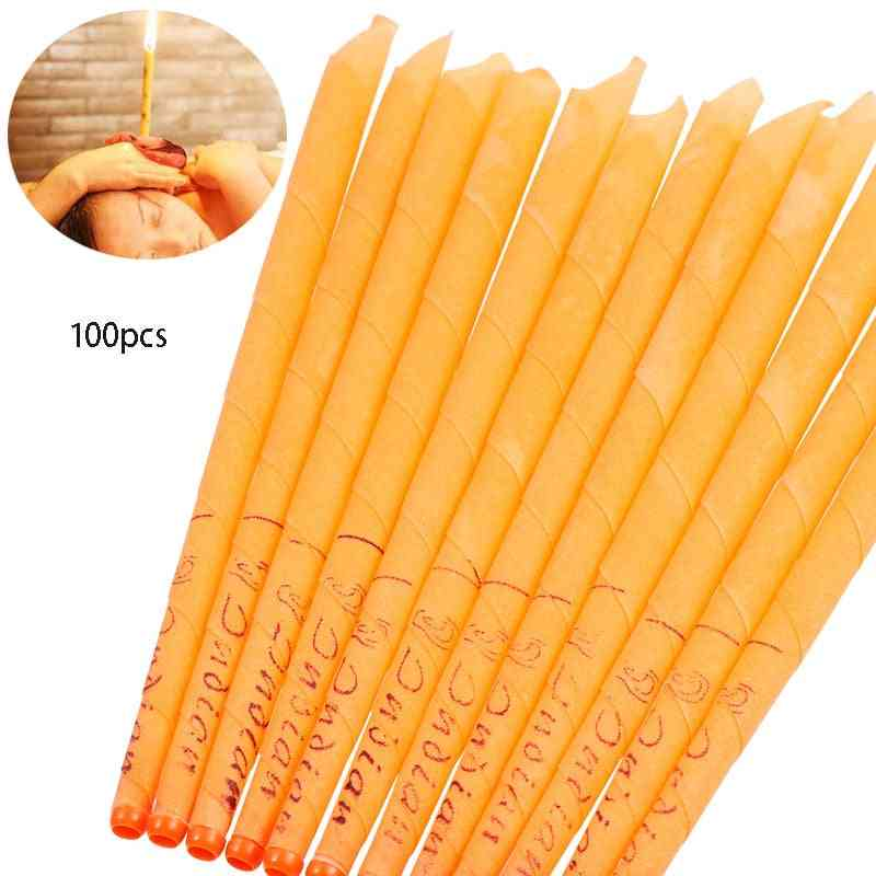 Beeswax Ear Candle Wax Removal Tool Ear - Hopi Ear Wax Indian Coning, Fragrance Cleaning