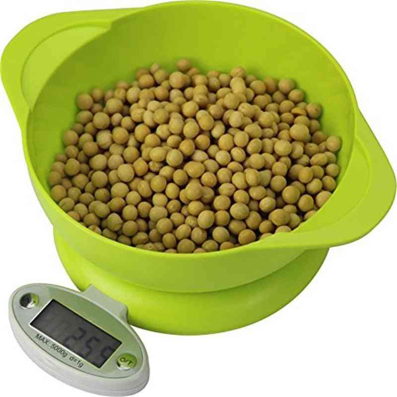 Electronic Lcd Display Kitchen Scale - Food Diet Postal Balance Scale, Weight Tool