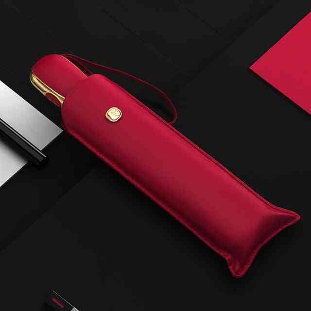 Automatic Anti Uv Portable Flat Folding Umbrella