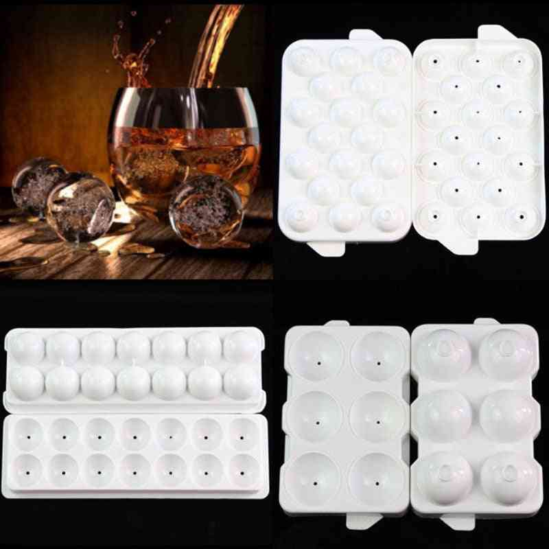 Whiskey Ice Ball Cube Maker - Sphere Ice Mold