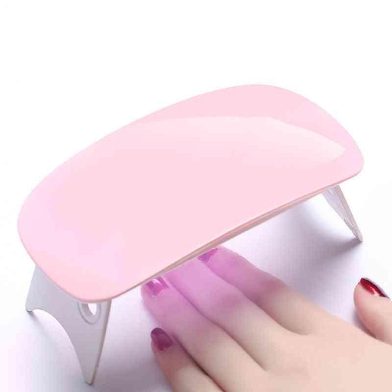 Mini Portable Nail Dryer Machine - Uv Led Lamp Micro Usb Cable