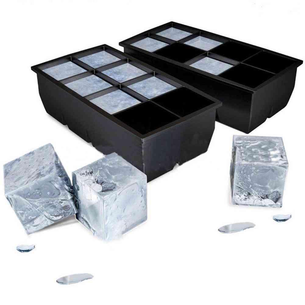Jumbo Ice Cube Maker Silicone Tray