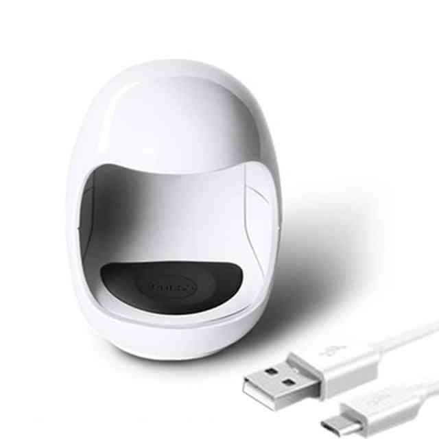 Egg Shape Uv Led Lamp For Nail Single Finger Lamp - Nail Gel Polish Dryer